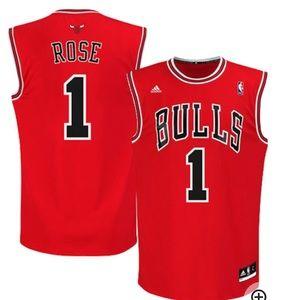 Chicago Bulls D Rose Adidas Jersey size XL